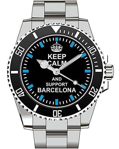Uhr 1719 - Keep calm and support BARCELONA