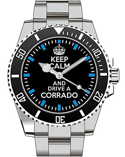 Uhr 1734 - Keep calm and drive a Corrado
