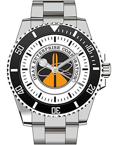 DRAX Enterprise Moonraker Inspired Goldeneye Spectre - Uhr 1739
