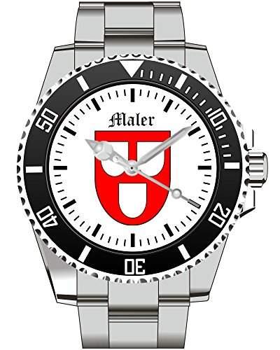 Kiesenberg Uhr Geschenkidee Geschenk fuer Maenner Maler Zunftzeichen - Uhr 1808