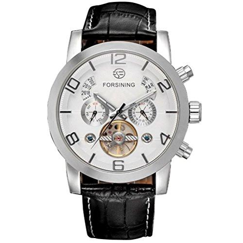 LEORX Elegante Maenner automatische mechanische Wrist Watch praezise Uhren
