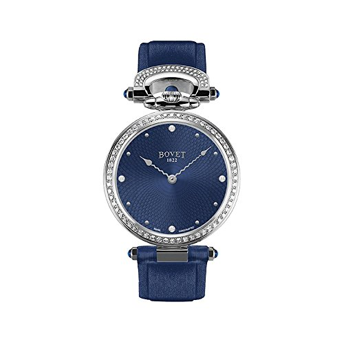 BOVET Miss Audrey Damen Armbanduhr Diamant 36mm Armband Satin Gehaeuse Edelstahl Automatik AS36005 SD12