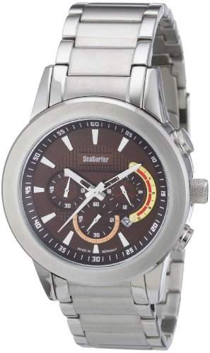 Sea Surfer Herren Chronograph Edelstahl Made in Germany 15814093