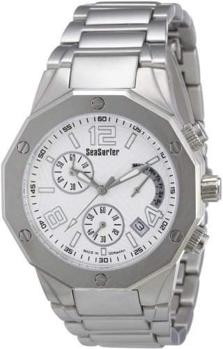 Sea Surfer Herren Chronograph Edelstahl Made in Germany 75664281