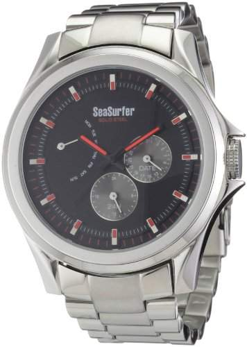 Sea Surfer Herrenuhr Edelstahl Multifunktion 5561 M