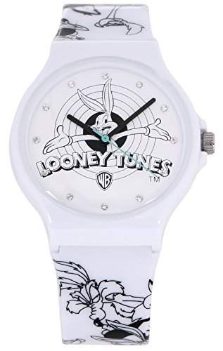 ililily Looney Tunes Bugs Bunny Logo W Character Band Fashion Casual Watch watch-017-1