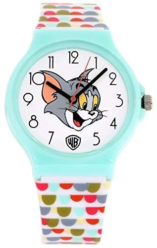 ililily Tom and Jerry Cartoon Logo W Cute Pattern Band Casual Fashion Watch watch-032-1