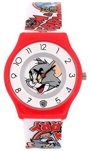 ililily Tom and Jerry Cartoon Logo W Cute Pattern Band Casual Fashion Watch watch-034-1