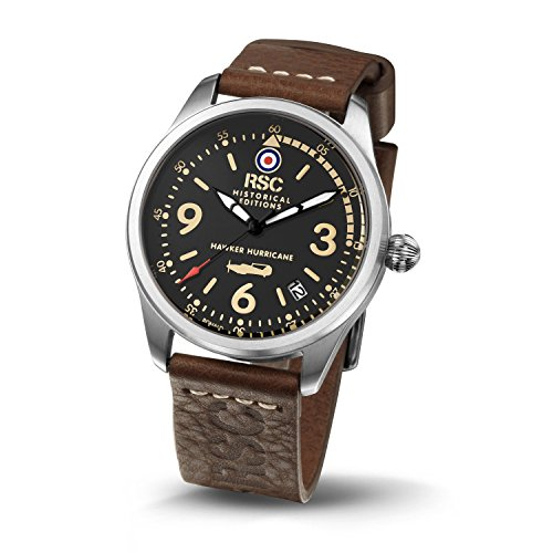 rsc1242 Hawker Hurricane RSC Pilot s Uhren Historische Edition Citizen MOV Luftfahrt Air Force