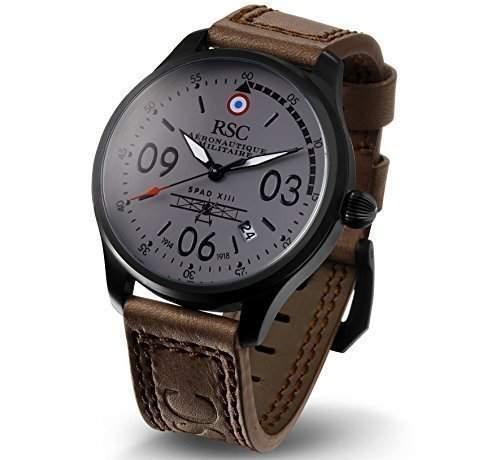 RSC308, SPAD XIII, RSC Des piloten Uhren, Limitierte ausgabe, Luftverkehr, Luftwaffe