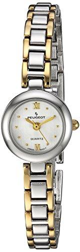 Peugeot Damen 753TT Zweifarbige Armbanduhr