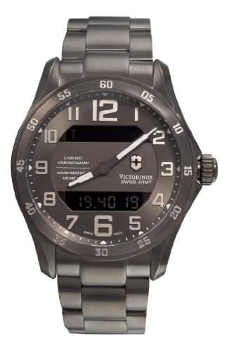 Victorinox Herren-Armbanduhr XL Classic Analog Edelstahl 241300