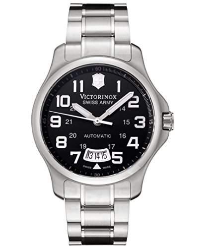 Victorinox Herren-Armbanduhr XL Classic AnalogAutomatik Edelstahl 241370