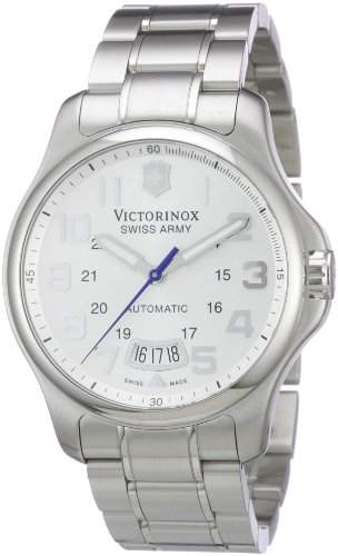 Victorinox Herren-Armbanduhr XL Classic AnalogAutomatik Edelstahl 241372