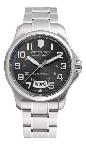 Victorinox Herren-Armbanduhr XL Classic AnalogAutomatik Edelstahl 241373