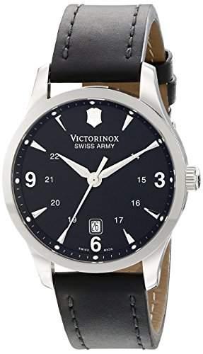 Victorinox Swiss Army Unisex-Armbanduhr Analog Quarz Leder 241474