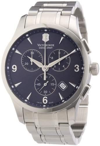 Victorinox Herren-Armbanduhr XL Classic Chronograph Edelstahl 241478
