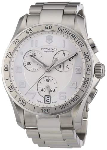Victorinox Herren-Armbanduhr XL Classic Analog Edelstahl 241499