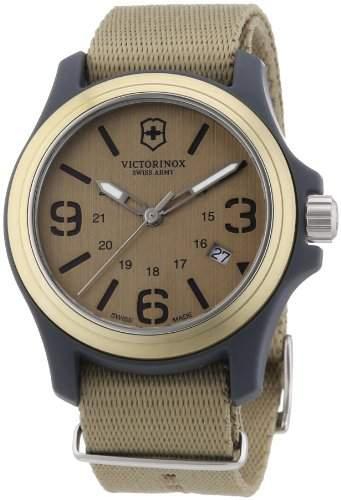 Victorinox Herren-Armbanduhr XL Active Analog Textil 241516