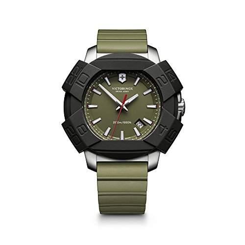 Victorinox Swiss Army Herren-Armbanduhr XL Analog Quarz Kautschuk 2416831