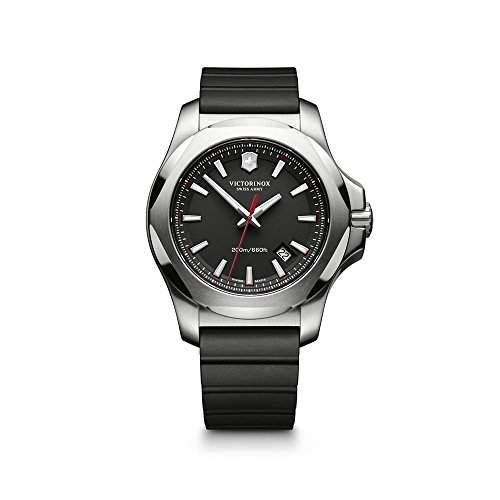 Victorinox Swiss Army Herren-Armbanduhr XL Analog Quarz Kautschuk 2416821