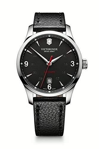 Victorinox Swiss Army Herren-Armbanduhr XL Analog Automatik Leder 241668