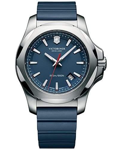 Victorinox Swiss Army Herren-Armbanduhr XL Analog Quarz Kautschuk 2416881