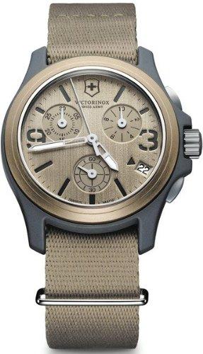 Unisex Uhren Victorinox ORIGINAL CHRONO BEIG CORREA LONETA V241533