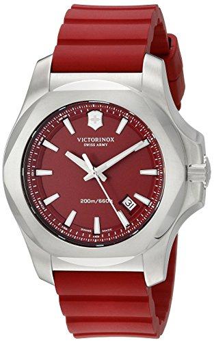 Victorinox 241719 1 Rot Silikon Rot Zifferblatt