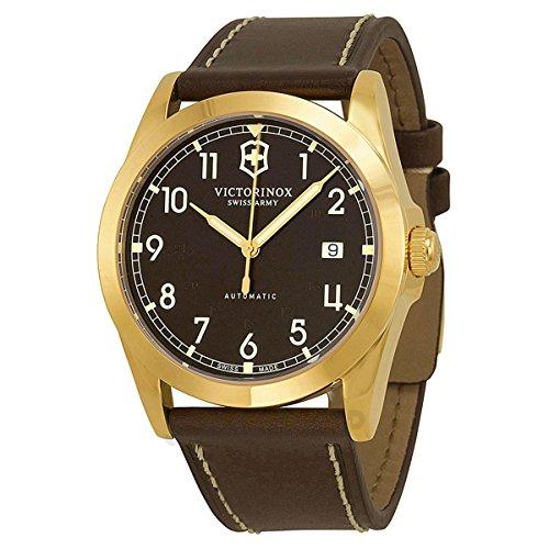 Victorinox Swiss Army Herren Armbanduhr Analog Automatik Leder 241646