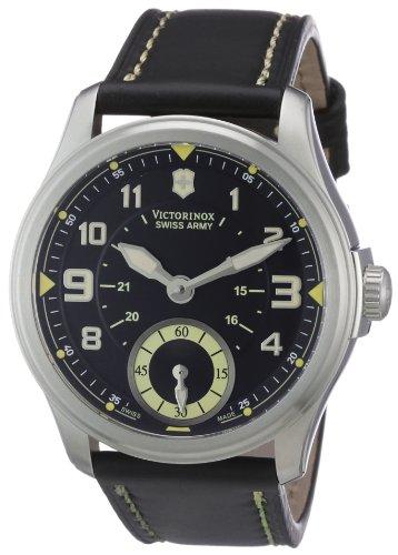 Victorinox Herren Armbanduhr XL Classic Analog Leder 241377