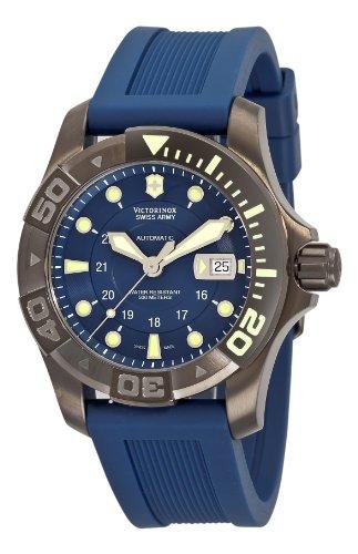 Victorinox Herren Armbanduhr XL Professional AnalogAutomatik Kautschuk 241425