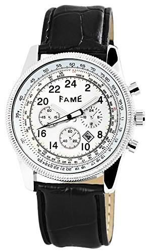 Akzent Damenuhr mit Edelstahlarmband Schwarz Armbanduhr Uhr SS8171000007