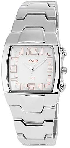 Akzent Damenuhr mit Kunststoffarmband Silber Armbanduhr Uhr SS8102000011