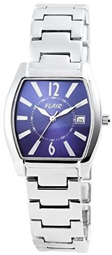 Herrenuhr mit Metallarmband Blau Armbanduhr Uhr 200423000013