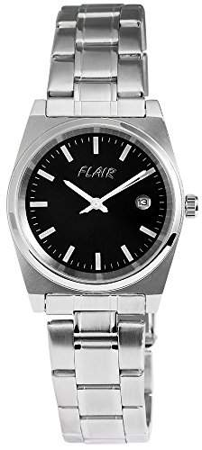 Herrenuhr mit Edelstahlarmband silberfarbig Armbanduhr Uhr 200621000001