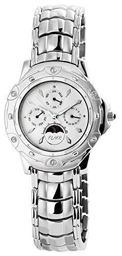 Herrenuhr mit Edelstahlarmband silberfarbig Armbanduhr Uhr 200622000003