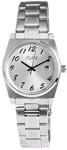 Herrenuhr mit Edelstahlarmband silberfarbig Armbanduhr Uhr 200622500001
