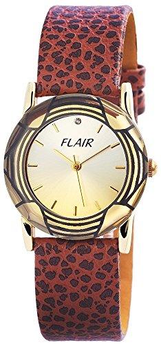 mit Echtlederarmband silberfarbig Armbanduhr Uhr 100304100062