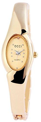 Metall Armbanduhr Uhr silberfarbig 100402000098