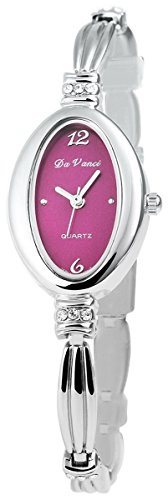 mit Metallarmband Armbanduhr Uhr womens watch Lila 100423800028