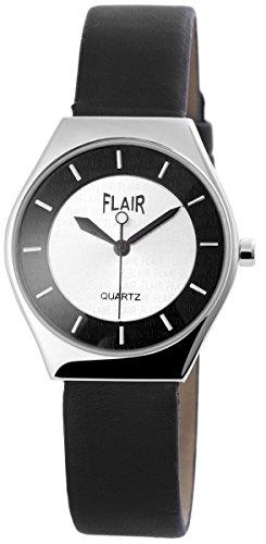 mit Lederimitationsarmband Armbanduhr Uhr silberfarbig 100322600041
