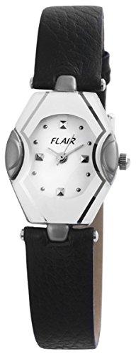mit Lederimitationsarmband Armbanduhr Uhr Weiss 100322000100