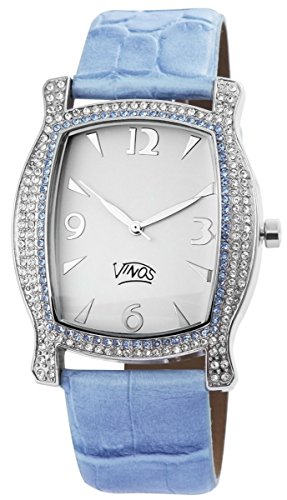 mit Lederimitationsarmband Armbanduhr Uhr Weiss 100322000122