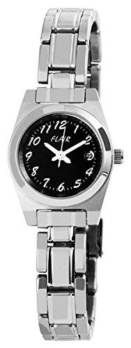 Uhr watch Armbanduhr mit Edelstahlarmband 100621000001