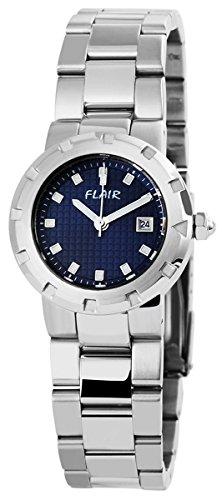 Uhr watch Armbanduhr mit Edelstahlarmband 100623000004