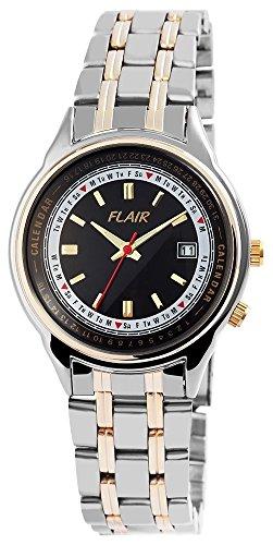 mit Metallarmband Armbanduhr Uhr watch Schwarz 200411000009
