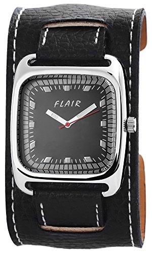 Uhr watch Armbanduhr mit Lederimitationarmband 200321000043