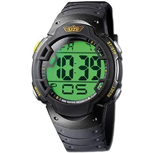 Uhr digital UZI Guardian Gummiband
