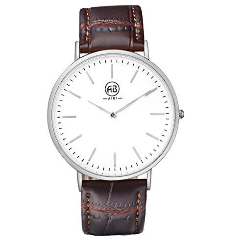 AIBI Herren Armbanduhr Classic Casual Analog Quarz Uhr AB02401 5